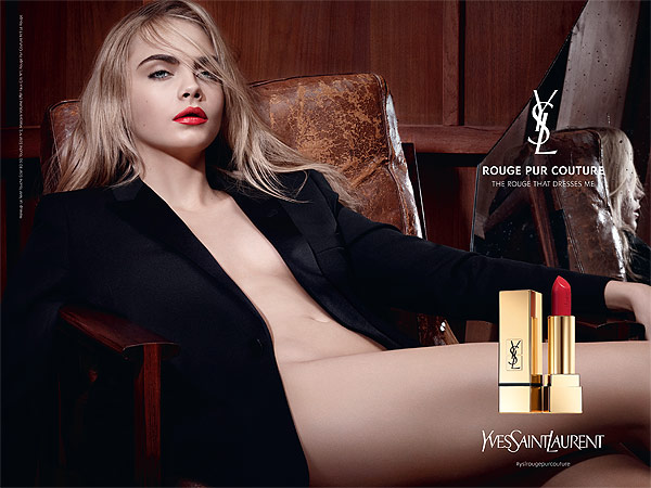 Cara Delevingne YSL Beauty
