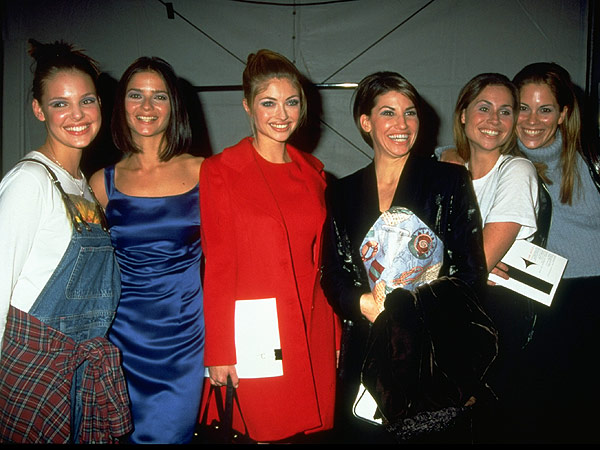 Katherine Heigl Nicole Miller 1995 fashion show