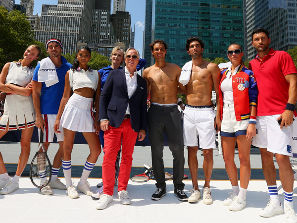 Rafael Nadal on His Steamy Underwear Ads and Strip Tennis Match: 'We Had a Lot of Fun'
