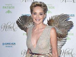 Sharon Stone Follows Up Her Nude Photoshoot with (Surprise!) Red Carpet Wings