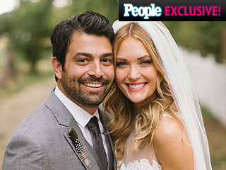 See Amy Purdy and Daniel Gale's 'Unique and Earthy' Wedding Bands – Plus, the Bridal Bling!