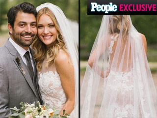 All the Details on Amy Purdy's Gorgeous Backless Wedding Dress!