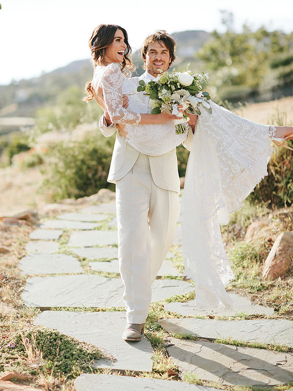 Nikki Reed and Ian Somerhalder Wedding