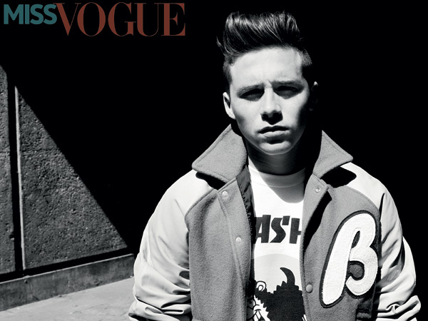 Brooklyn Beckham Miss Vogue Magazine