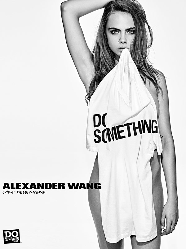 Alexander Wang x Do Something/Steven Klein Cara Delevingne