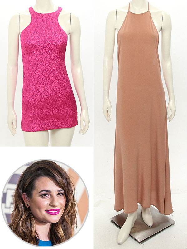 Lea Michele - Auction Clothes