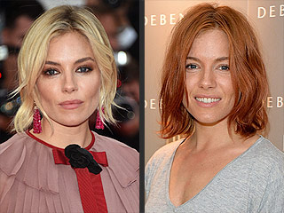 There's a New Redhead in Town: Sienna Miller!