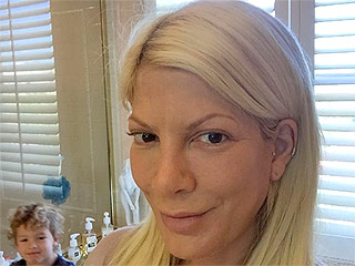Tori Spelling Shares Bold Makeup-Free Photo, Pledges to Focus on Herself This Season