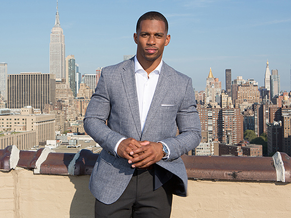 Behind the Scenes with Victor Cruz for Hugo Boss
