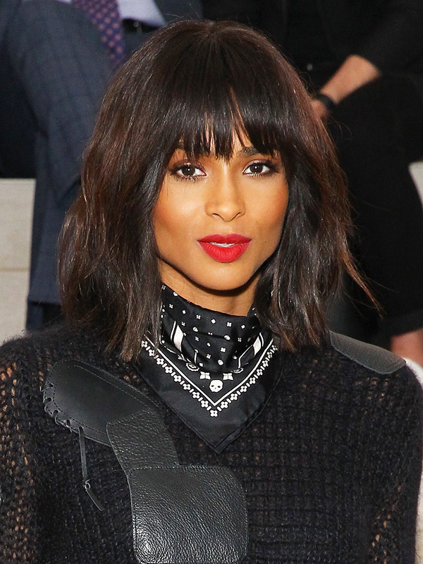 Ciara attends the Coach Women's Spring 2016 Show