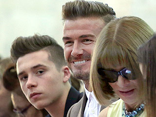 All in the Family: The Beckham Brood Supports Victoria at Her Fashion Week Show