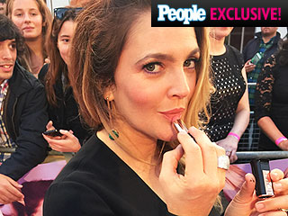 Drew Barrymore Shares Before and After Makeup Photos from Her Latest Premiere