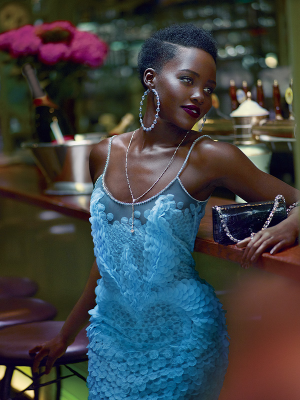 Lupita Nyong'o Vogue October 2015