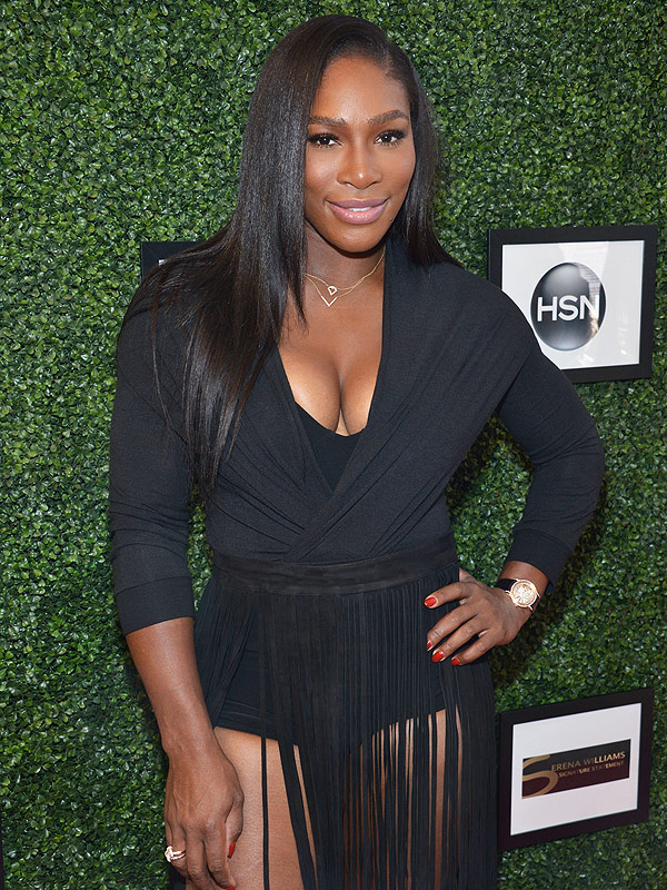 Serena Williams fashion show