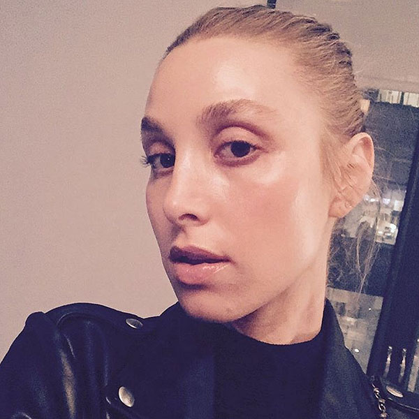 Whitney Port makeup-free rant
