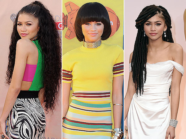 Zendaya Switches Up Her Hairstyles