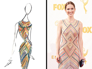 Ellie Kemper's Emmys Dress Took 800 Hours to Bead! (Plus, 7 More Fun Facts About Her Look)