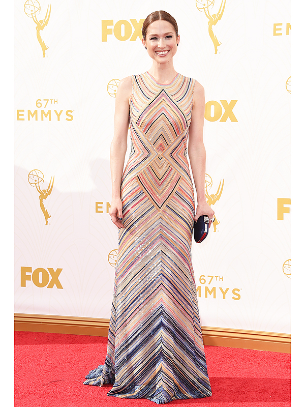 Ellie Kemper at 67th Annual Primetime Emmy Awards.