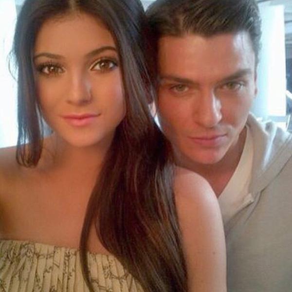 Kylie Jenner and Mario Dedivanovic Throwback photos