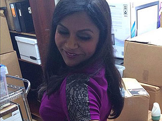 Mindy Kaling Splits Her Dress on Set Doing 'Physical Comedy,' Blames Her 'Big Butt'