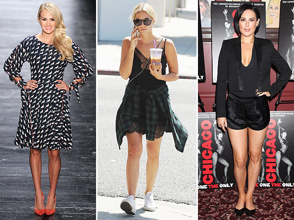 Carrie Underwood, Ashley Benson and Rumer Willis