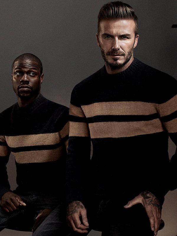 David Beckham Kevin Hart H&m