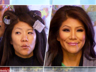 TV Hosts Are Taking It All Off! See Julie Chen, Tyra Banks and Chrissy Teigen Go Makeup-Free on Air