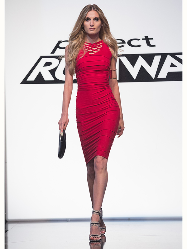 Project Runway dress