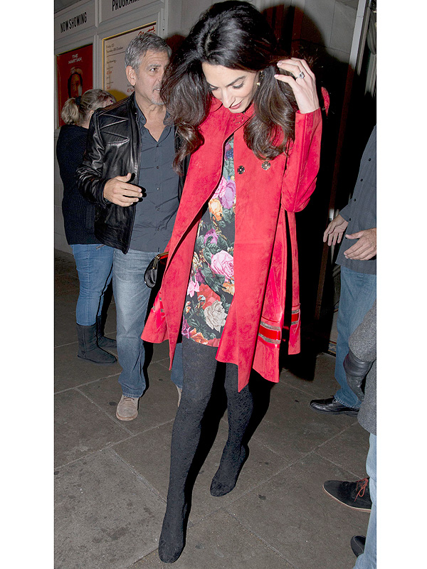 Amal Clooney boots