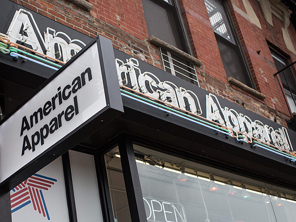 American Apparel bankrupt