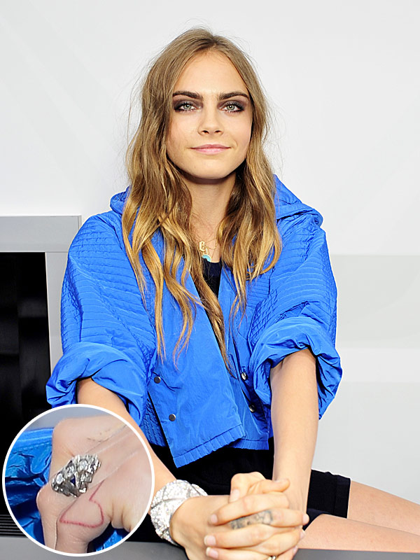Cara Delevingne possible engagement ring