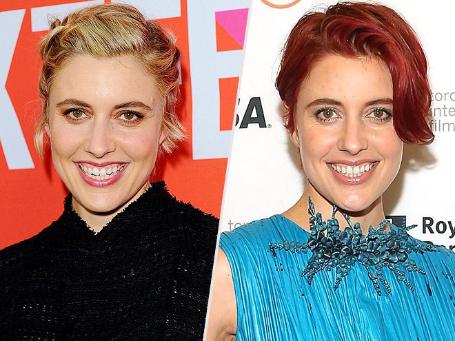 Great Gerwig red hair change