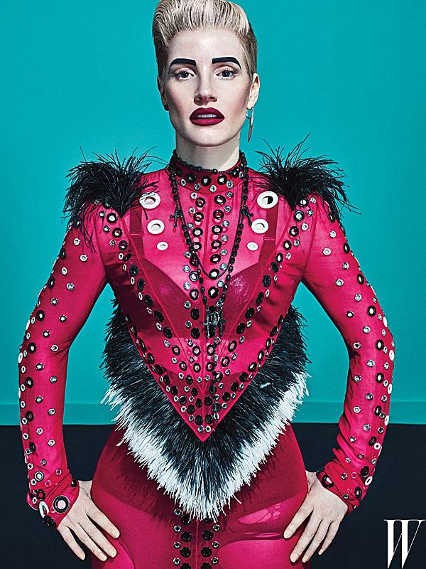 Jessica Chastain in W Magazine