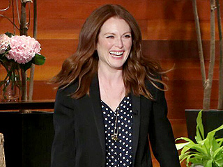 Julianne Moore Reveals Photo of Her Crazy 'Summer Hair,' Proves 'I Woke Up Like This' Means Many Things
