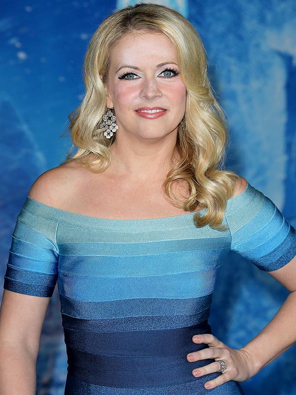 Melissa Joan Hart makeup mishap Frozen premiere
