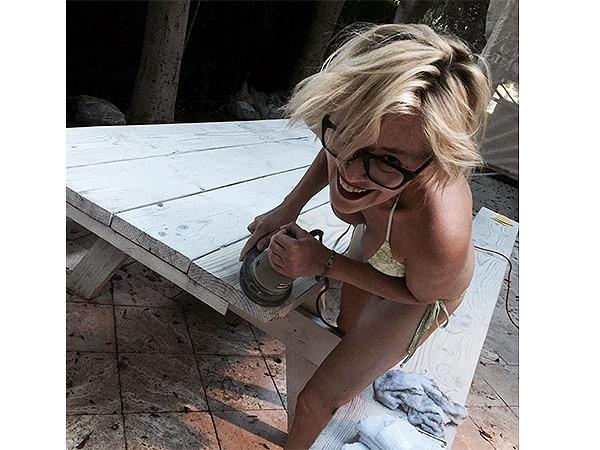 Sharon Stone bikini photo