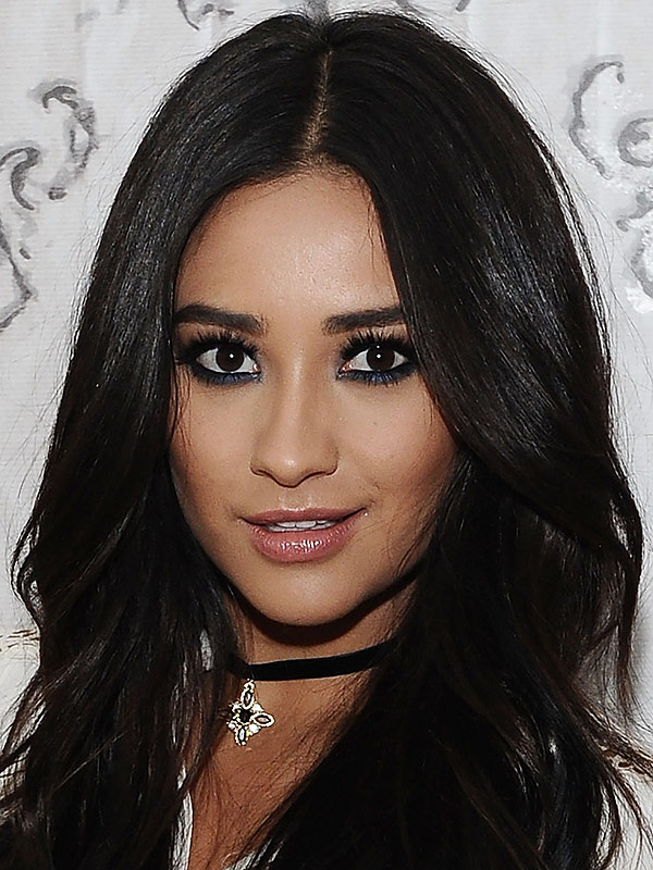 Shay Mitchell attends AOL Build at AOL Studios