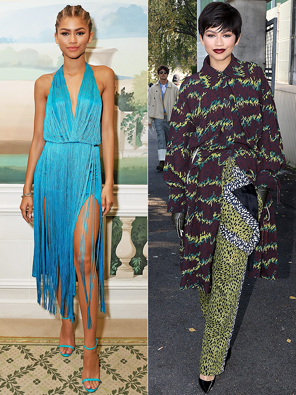 Zendaya Paris Fashion Week style