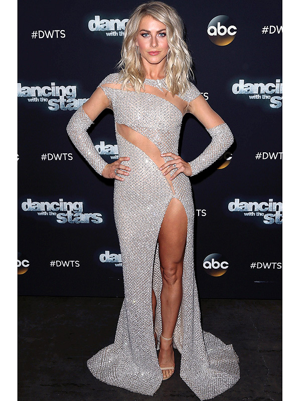 Julianne Hough Dancing with the Stars outfit switchup
