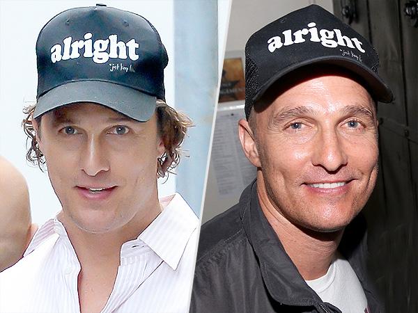 Matthew McConaughey shaves head