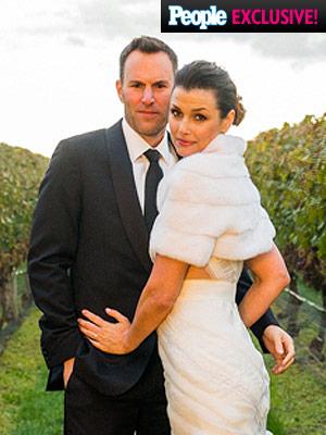 Bridget Moynahan wedding