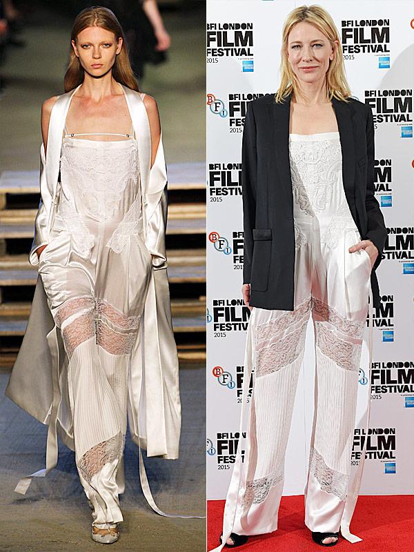 Cate Blanchett designer runway roundup