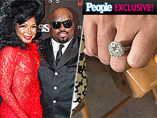 Cee Lo Green Is Engaged – Check Out His Bride-to-Be's Ginormous Ring!