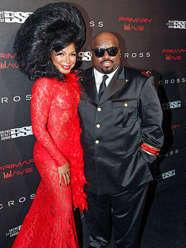 Cee Lo Green and Shani James engaged