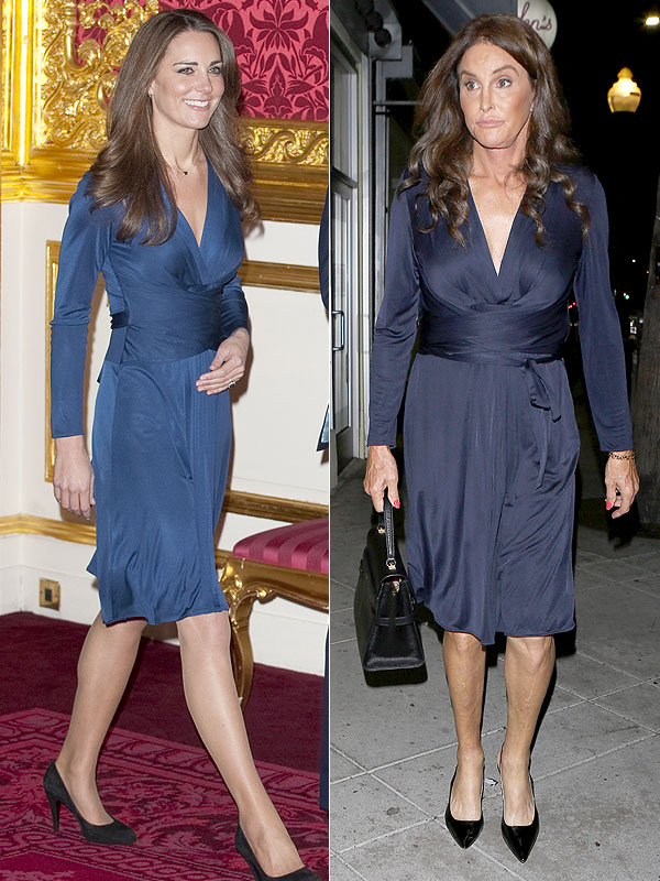 Duchess Kate and Caitlyn Jenner