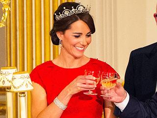 Princess Kate's Sweet State Banquet Jewelry Secret: She Wore Queen Elizabeth's Wedding Bracelet!