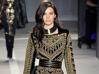The 7 Best Moments from the Balmain x H&M Show (like Kendall and Gigi Swooning Over the Backstreet Boys)