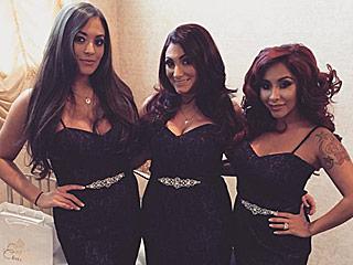Check Out Nicole 'Snooki' Polizzi's Bridesmaids Dress at Jenni 'JWoww' Farley's Wedding