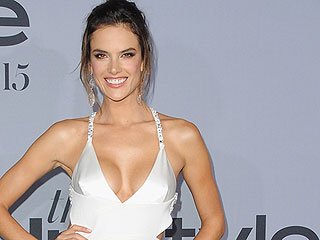 A Vision in White: Alessandra Ambrosio Stuns at the InStyle Awards