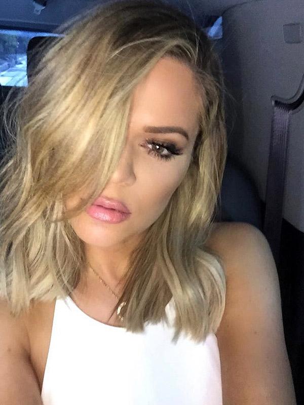 Khloé Kardashian haircut